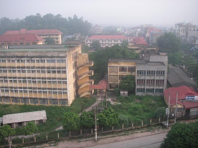 ThaiNgyenホテルからの眺め.JPG